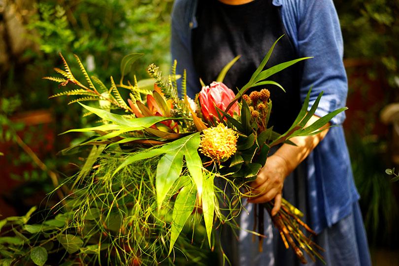 10月28日(土)「アフリカの草花を束ねるワークショップ」開催決定!