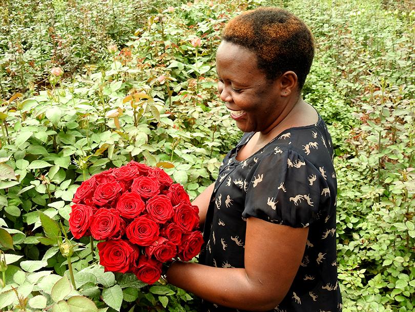 ケニアのソジャンミ農園のみなさんが、素敵な写真を送ってくれました。