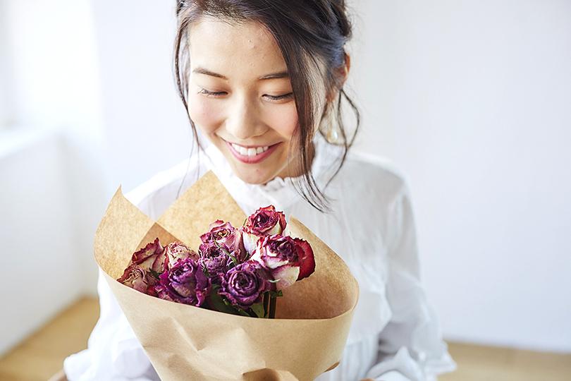 ソジャンミ農園のドライフラワーの花束