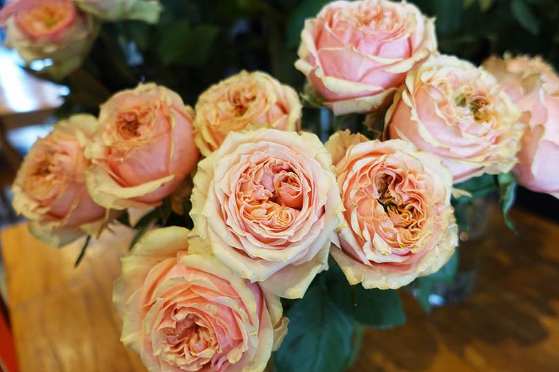 世界の花屋のなかのことVol.6 海外からご依頼いただいたプロポーズの花束