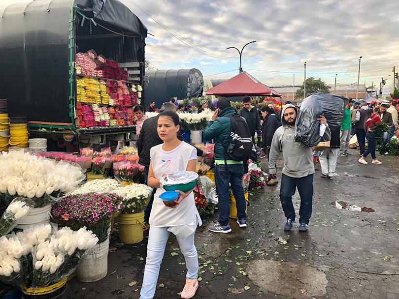 パロケマオ花市場~コロンビア・ボゴタ~