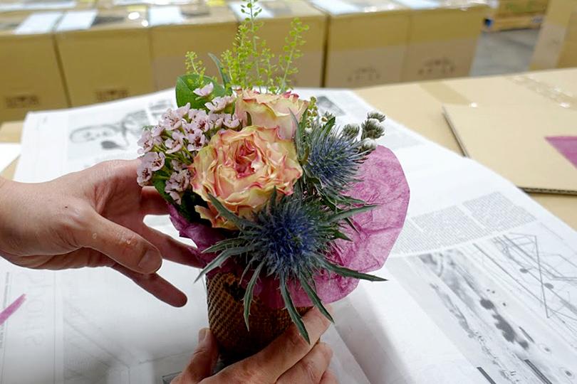 世界の花屋のなかのことVol.8 母の日の制作現場から