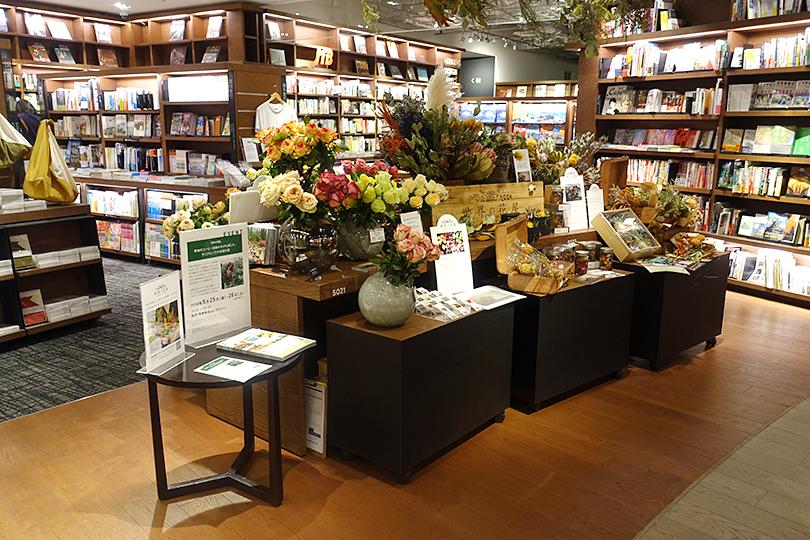 世界の花屋のなかのことVol.9 梅田蔦屋書店さま Pop Up Store