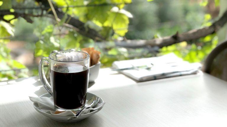 オリーブの木に包まれたカフェ~イスラエル・ベネシオン~