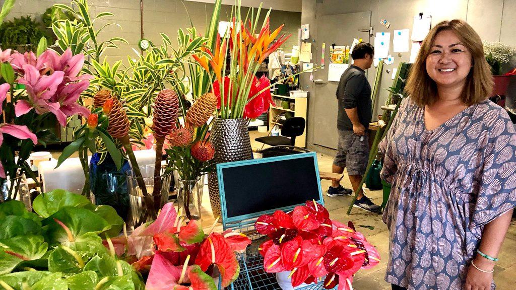 ハワイアンなお花屋さんへ~アメリカ・ハワイ~