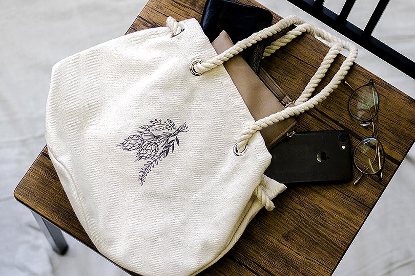 世界の花屋オリジナルコットンバッグ