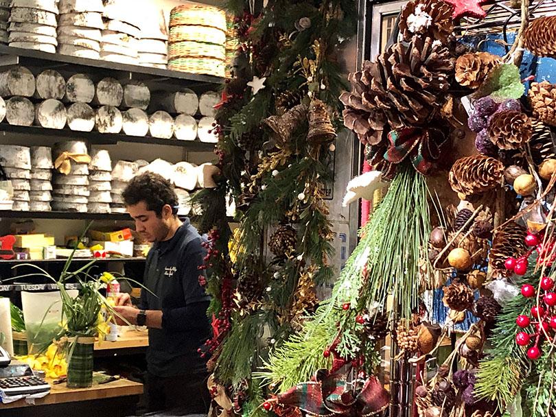 ニューヨークのクリスマス〜お花屋さん編〜