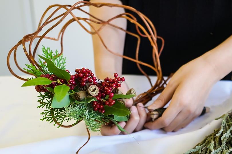 世界の花屋」のクリスマス