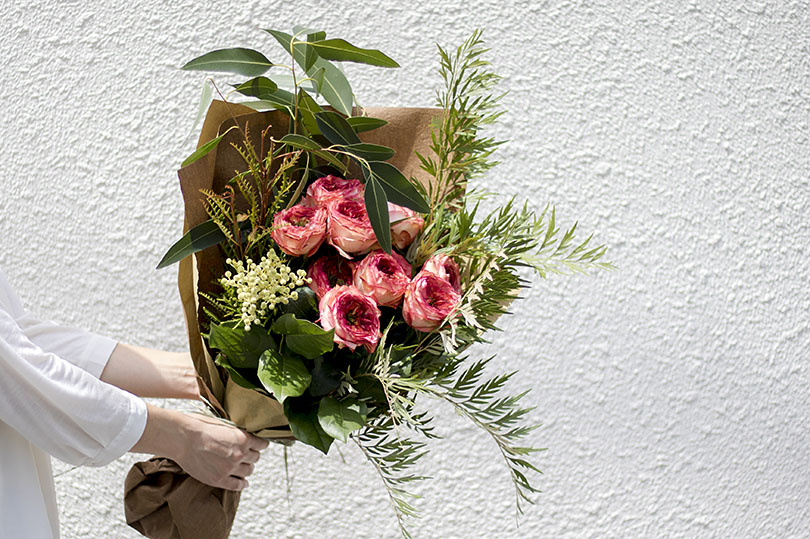 3月の誕生日プレゼントは、花のサプライズで。