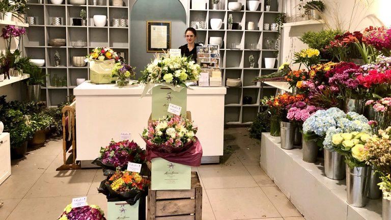 「せかほし」のお花屋さんを訪ねて~イギリス・ロンドン~