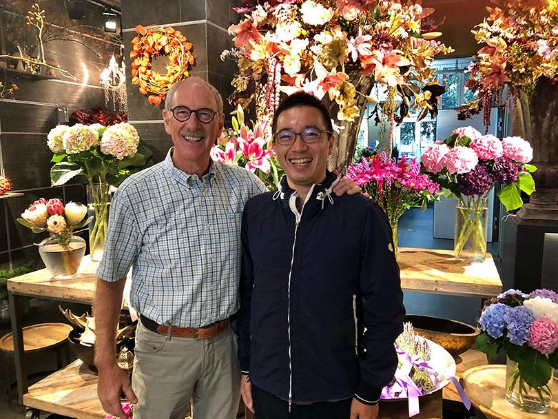 お花を通じた素敵な出会い〜スイス・チューリッヒ〜