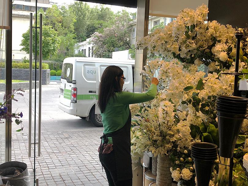 チリで有名なお花屋さん~チリ・サンティアゴ~