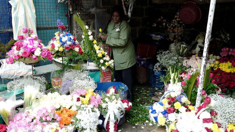 ケニアの花市場~ケニア・ナイロビ~