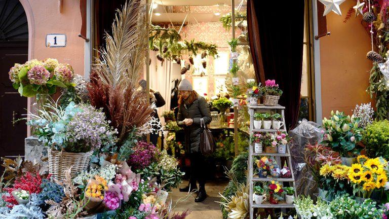 最近のイタリアを代表するお花屋さんへ~イタリア・ボローニャ~
