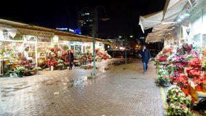花屋街を歩く~北マケドニア・スコピエ~
