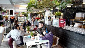 素敵なフラワーカフェ~ハンガリー・ブダペスト~