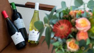 日本ワインと世界の草花ギフトセット